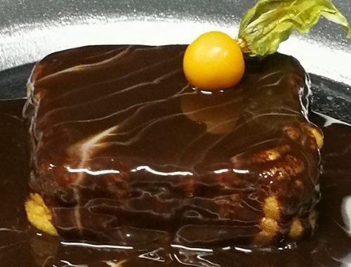 torrija de chocolate